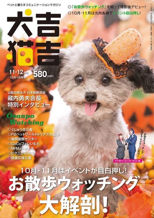 犬吉猫吉九州版「お散歩ウォッチング」公認キャラクター